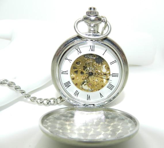Vintage Mechanical Skeleton Watch