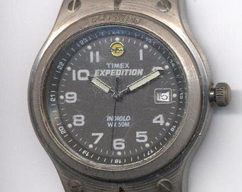 24f4d4a42946 Timex Men s Expedition Date Indiglo WM50 W W