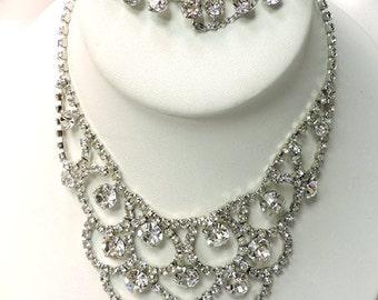 a472c4610 Sale...Vintage EISENBERG Necklace...Signed EISENBERG Rhinestone Bracelet  ...Eisenberg Jewelry Collectors