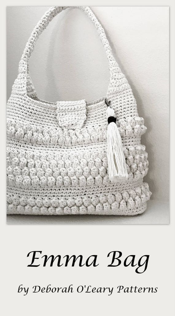 Crochet Purse With Tassel Pattern Easy Crochet Bag Crochet Etsy