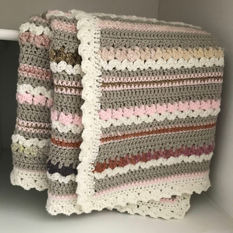 Crochet Baby Blanket Pattern Aspen Blanket Woodland Baby Etsy