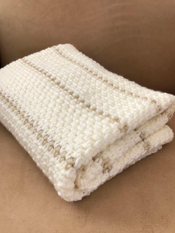 Crochet Baby Blanket Pattern Chunky Crochet Baby Blanket | Etsy