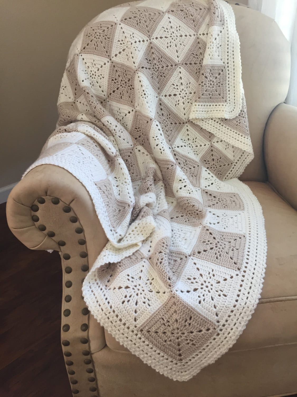 Crochet Blanket Pattern Arielles Square Crochet Baby Etsy
