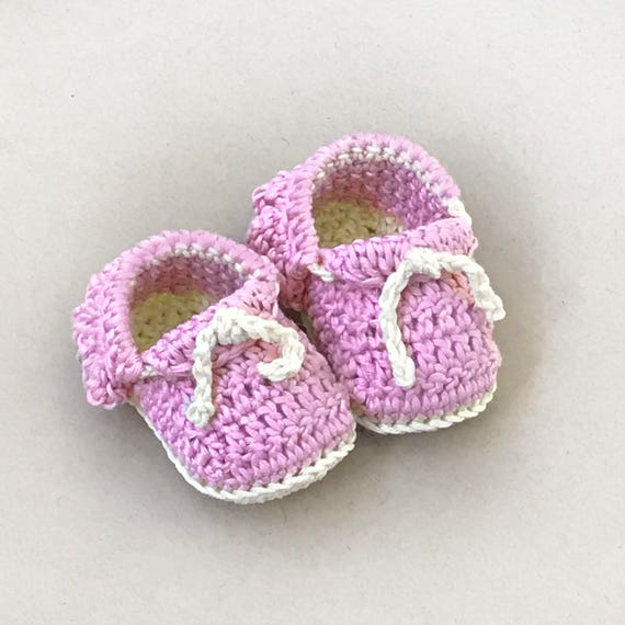 Crochet Baby Moccasins Pattern Crochet Baby Shoes Baby Etsy