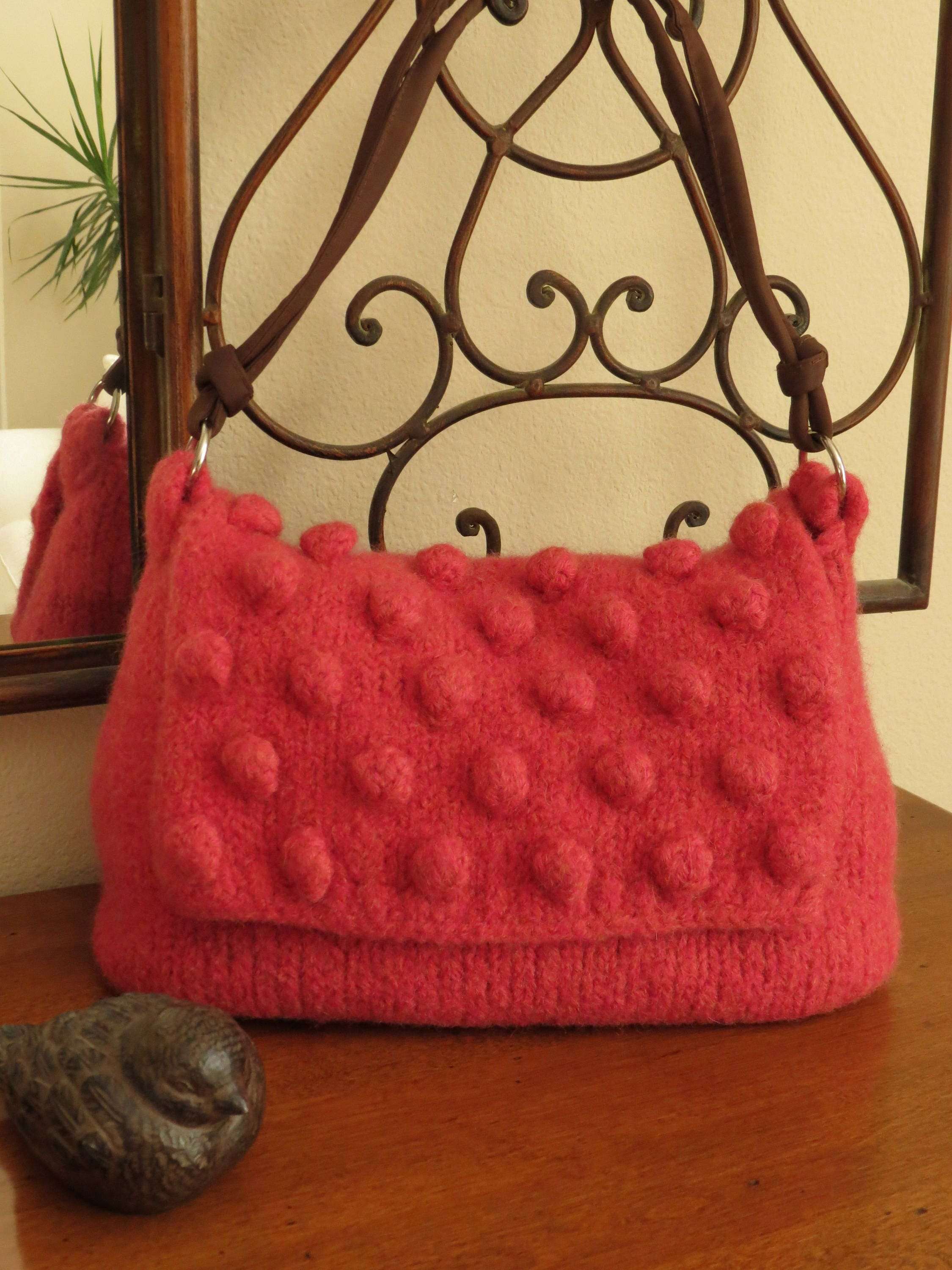 Felted Purse Pattern - Berry Bobble