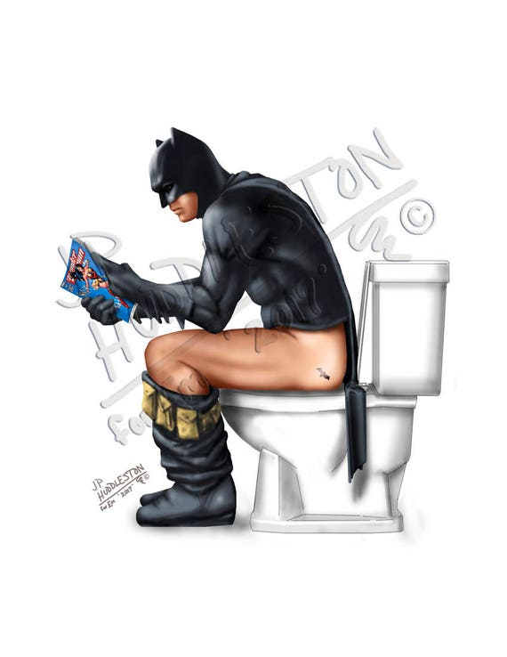 image 0 - Batman Bathroom