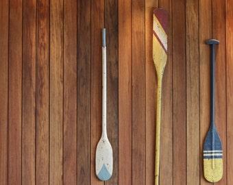 Wooden Oars Etsy