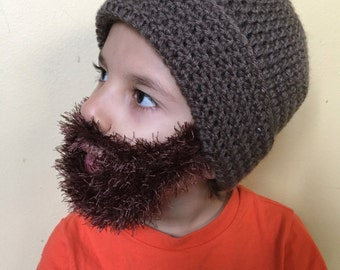 1498a4f4cc2 Handmade Crochet Beard hat