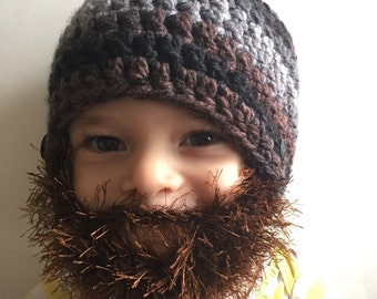 5c8f529e658 Handmade Crochet Beard hat
