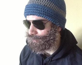86c6963b51b Handmade Crochet Beard hat