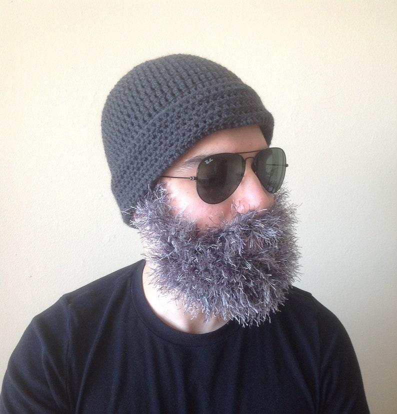 865c6c008dd Handmade Crochet Santa Claus Beard hat PATTERN Toturial pdf