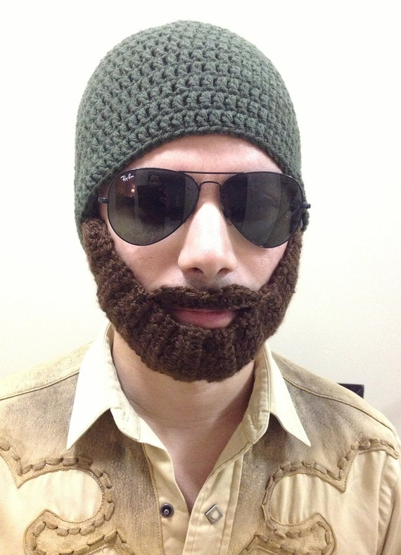 Crochet Beard Hat for men women kids babies in All sizes  e547da97e3e5