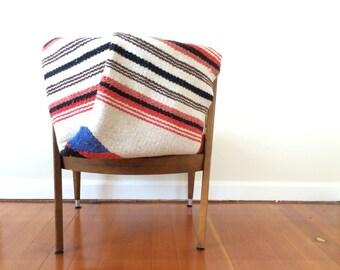 Vintage Woven 2 x 4 Foot Baja Floor Mat Area Rug