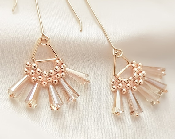 Sunburst | Topaz Gold Long Dangles