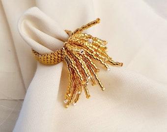 Hanabi Ring | 24k Gold