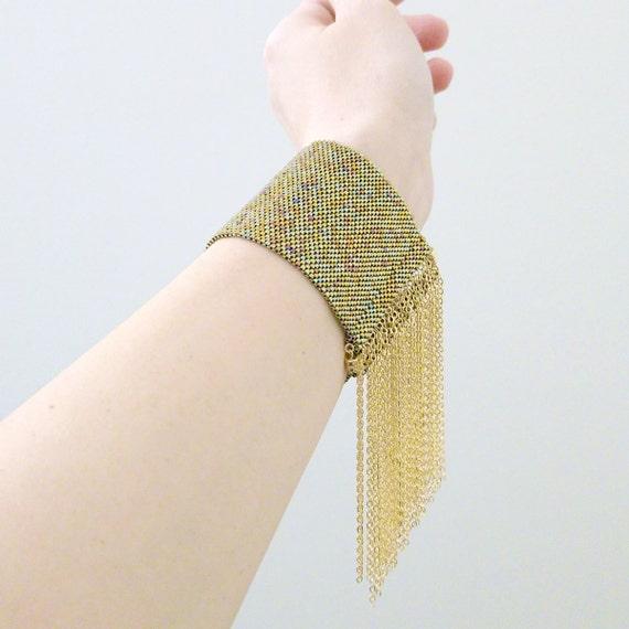 Freya Tassel Cuff | 18k Gold