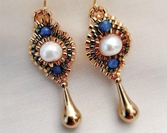Flores Perle | Apatite Blue