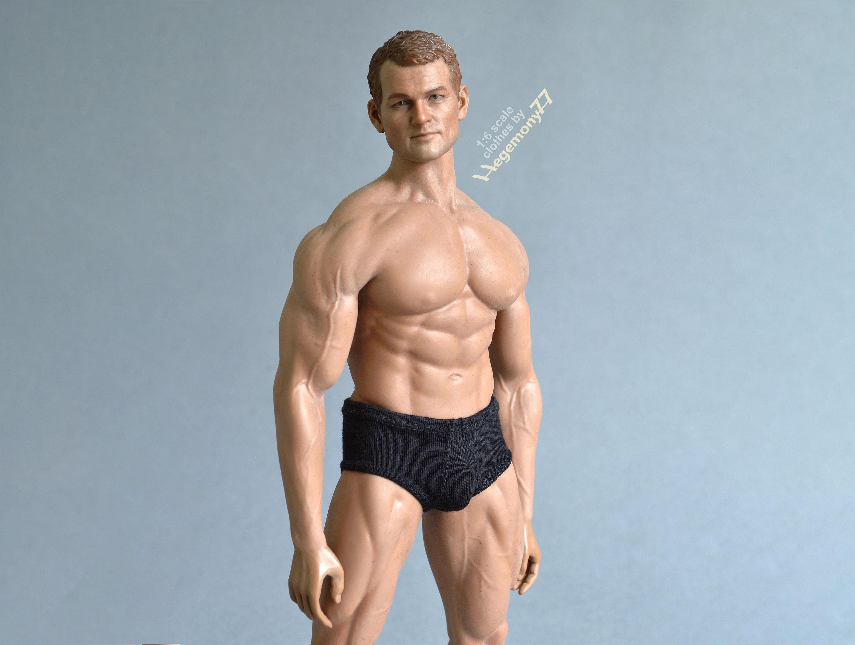 1//6 scale Men Tank Top Underwear Set GREY For Phicen M33 M34 male Figure body