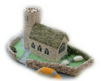 Little Knittington Church by Georgina Manvell