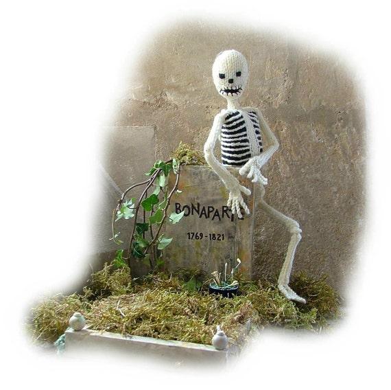 BONAPARTE Skelett plus Kleidung Spielzeug Strickmuster von | Etsy