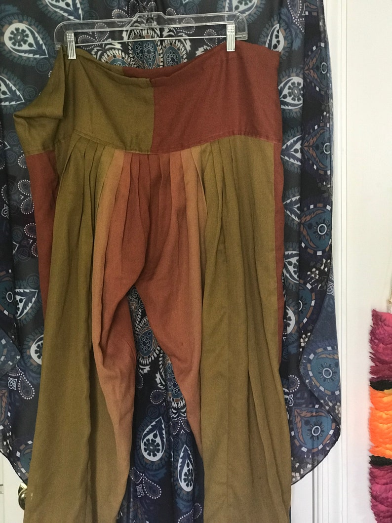 Vintage Indian patiala and churidar leggings