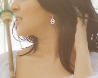 Wedding Bridal Jewelry | Crystal Drop Jewels | Estate Style