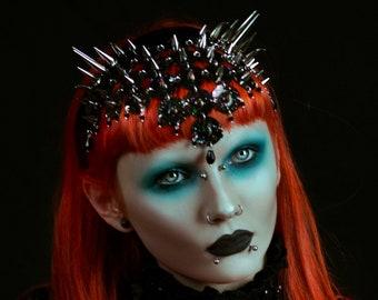 Thorn Galaxy Glitter The Black - Spike Scale Headpiece