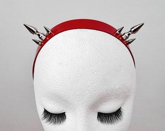 BULLET BABE Headband Red