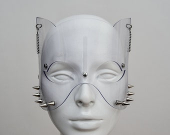 Clear PVC Cat Mask