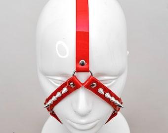 Spike Red Head Harness