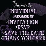 Individual File Purchase of any wedding invitation set