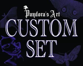 Full Custom Wedding invitation set