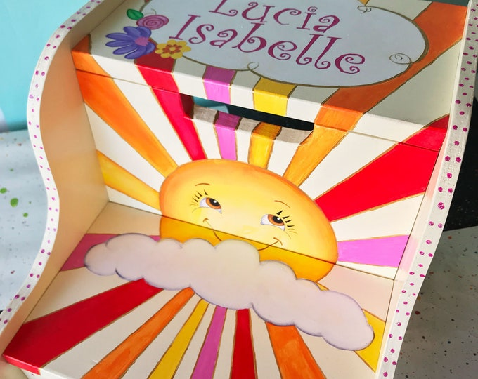 Personalized Step Stool - Sunshine My Only Sunshine