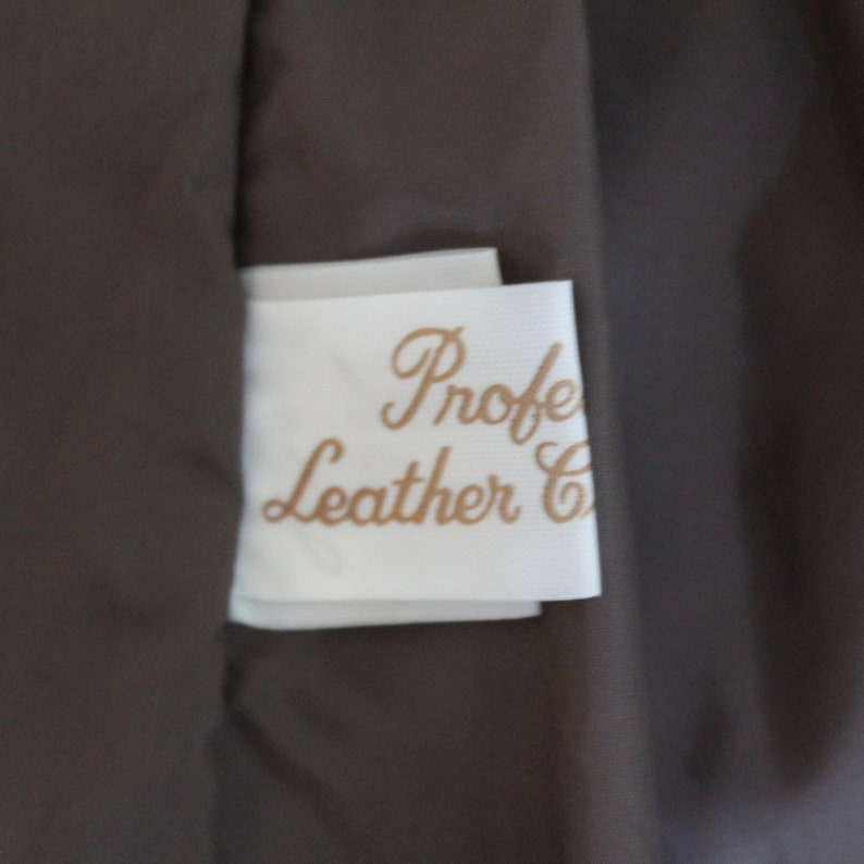 Leather Blazer 1970/'s Vintage Medium