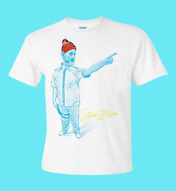 ZISSOU BILL MURRAY THE MOVIE WES ANDERSON JAWS PARODYT Shirt