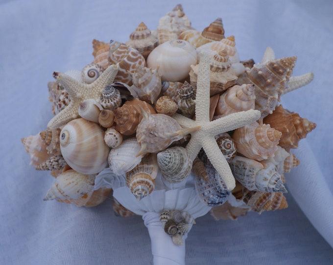 Starfish and Seashell Bouquet