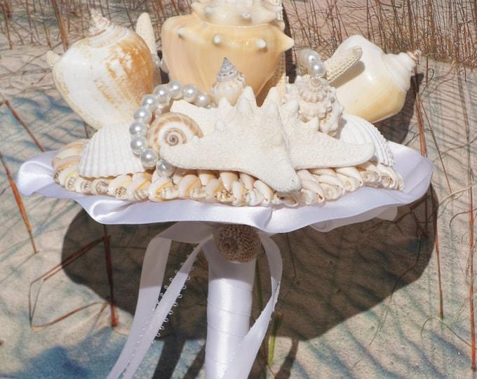 Bridesmaid Seashell Bouquet / Beach Bouquet
