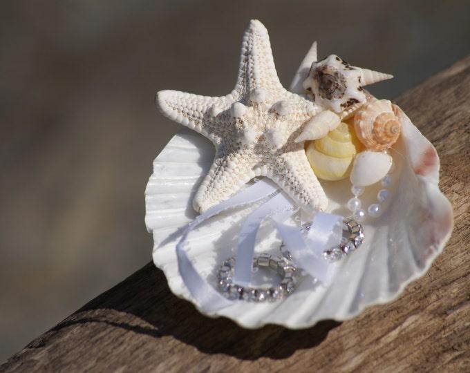 Seashell Ring Bearer Shell