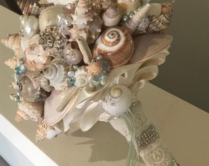 Washed Ashore Seashell Bouquet