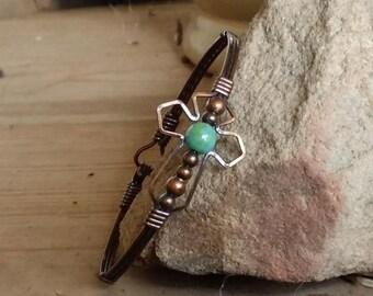faith jewelry, cross bracelet, copper jewelry, gemstone jewelry, gemstone bracelet, spiritual jewelry, religious jewelry, religious bracelet