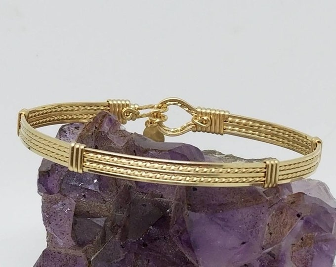 Gold Bangle- 14kt gold filled bracelet bangle