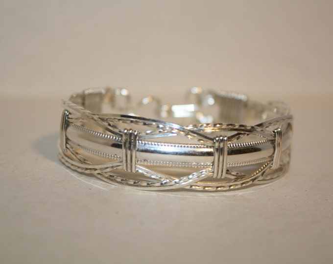 Sterling Silver, Silver, Bracelet, Hand crafted, handmade, fashion jewelry