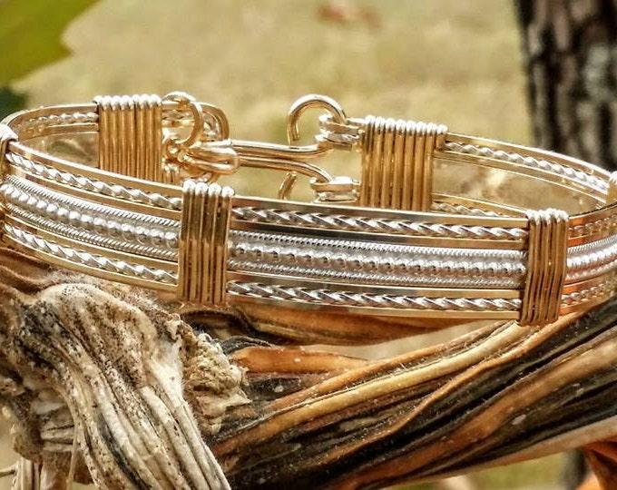 The Wrangler- 14kt Gold Filled,Sterling Silver,wire jewelry,handcrafted
