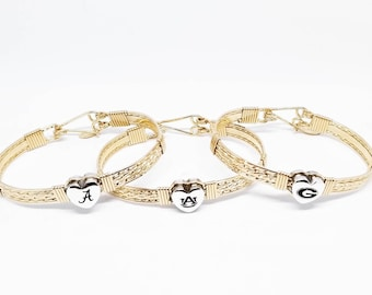 Team Jewelry, College Jewelry, Gold Team Bracelet, Collegiate Jewelry