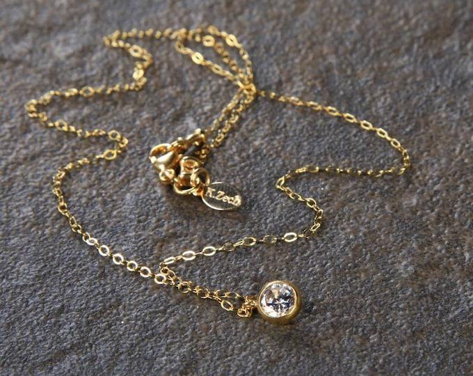 Starlight Necklace, CZ