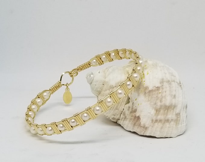 Serenity- 14kt Gold Filled and Fresh Water Pearl's