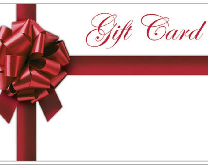 Gift Card for your Sweetie! Let her or him choose what she wants!