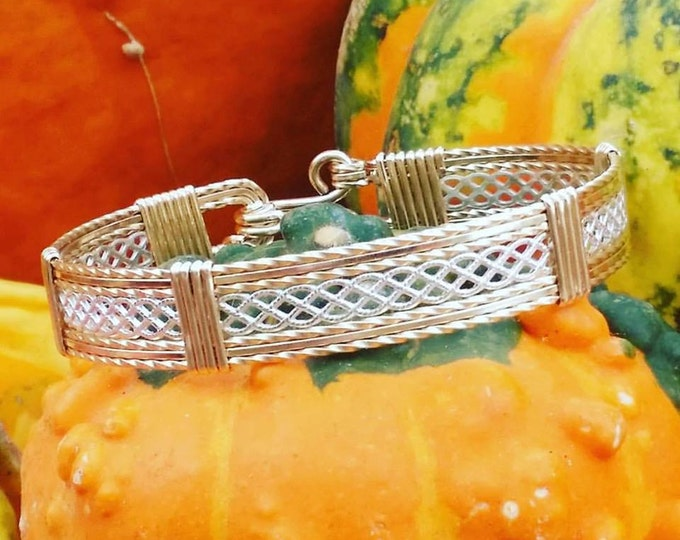 Picket Fences- 14kt Gold Filled, Sterling Silver,Wire Jewelry,Handcrafted,Gold Jewelry,Silver Jewelry