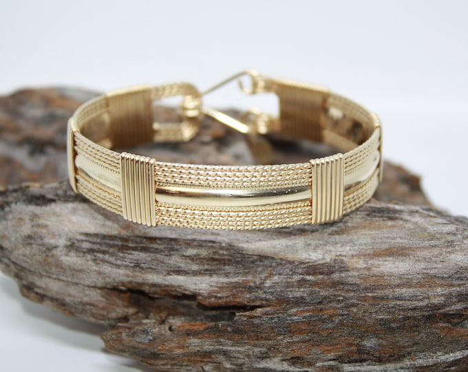 Elizabeth Bracelet, Gold bracelet, Silver Bracelet
