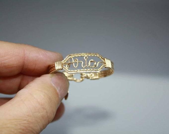 Baby Name bracelet, Name bracelet